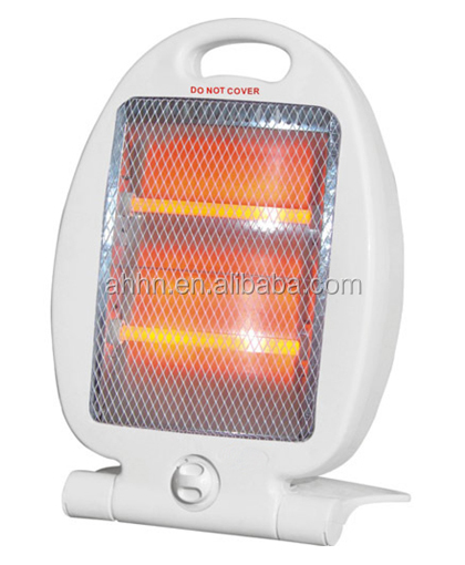 electric halogen heater 400W 800W CE ROHS for small space room