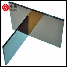 ISO9001 quality insurance hot sale lexan polycarbonate roofing prices