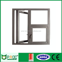 Australia Standard AS2047 Double Glazed Aluminum Hinged Window, Casement Windows With Reasonable Price