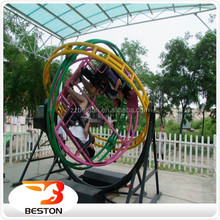 Outdoor & Indoor Theme Park Electric Human Gyroscope Rides For Sale