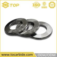 OEM design flat rubber seal strip, tungsten carbide roll mill, carbide roll ring blank