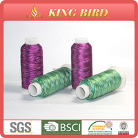 Colourful Emboridery Machine Thread 100 Polyester