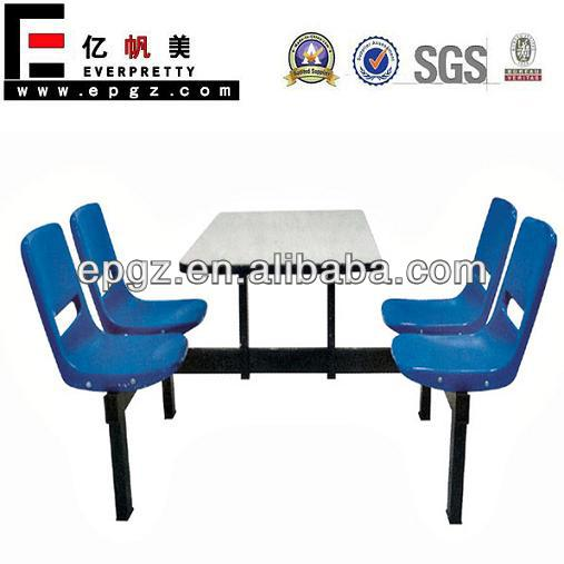 Restaurant Furniture 4 Seaters Restaurant Dining Tables And Chairs