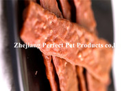 snack food(dental dog treats oblate Beef strip )