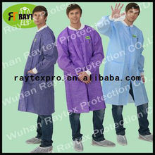 Disposable PP+PE Medical Lab Coat (code: 31005-O)