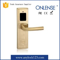 hotel supplies electronic Z-wave mortise lock for exterior doors