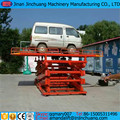 in floor scissor lift for car garage equipment workshop