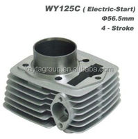 Motorcycle Parts Model Wy125c Electric Start Cylinder Complete