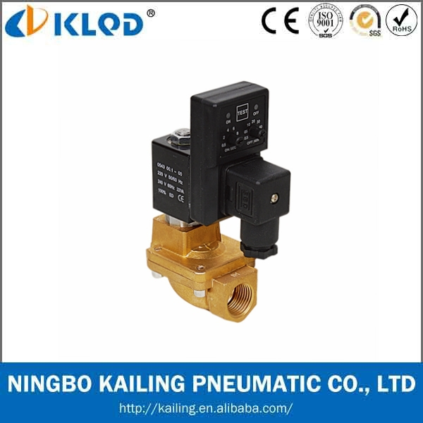 Normally Closed high pressure solenoid valve with Timer ( PU225T-04 )