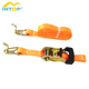 High quality CE certificated 25mm ratchet tie down strap lashing strap for sale