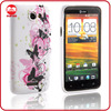 Top Funky Butterfly Soft Silicone TPU Gel Stylish Case for HTC One X