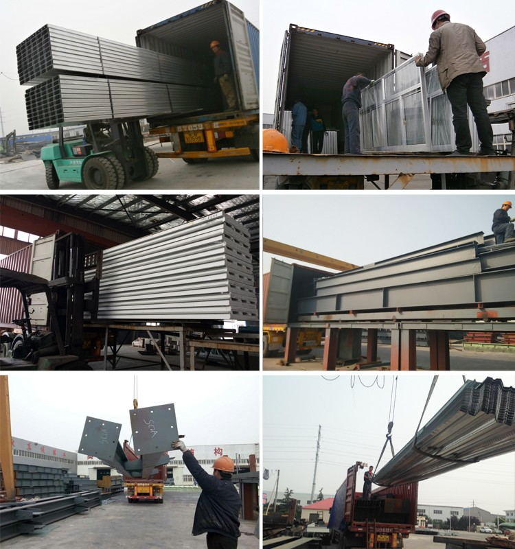 Prefab Metal Bolivia Metallic Building Steel Structure Warehouse