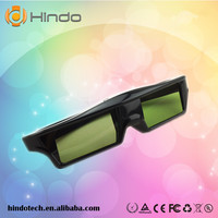 New come Rechargeable video projector 3d active shutter bluetooth 3d glasses for Sony/Panasonic/Samsung 3d movie
