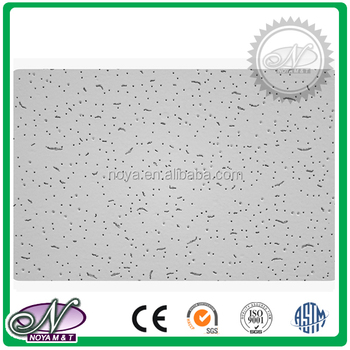 New design mineral fiber acoustical suspended ceiling board tiles