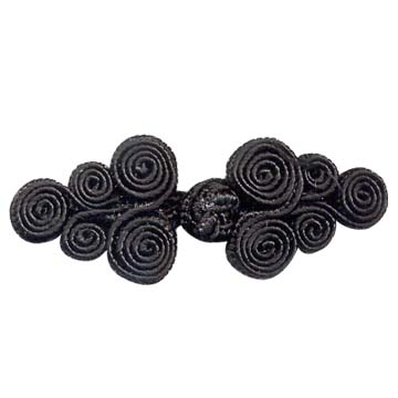 cloth knot buttons