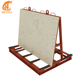 High load-bearing capacity glass display stone slab display rack