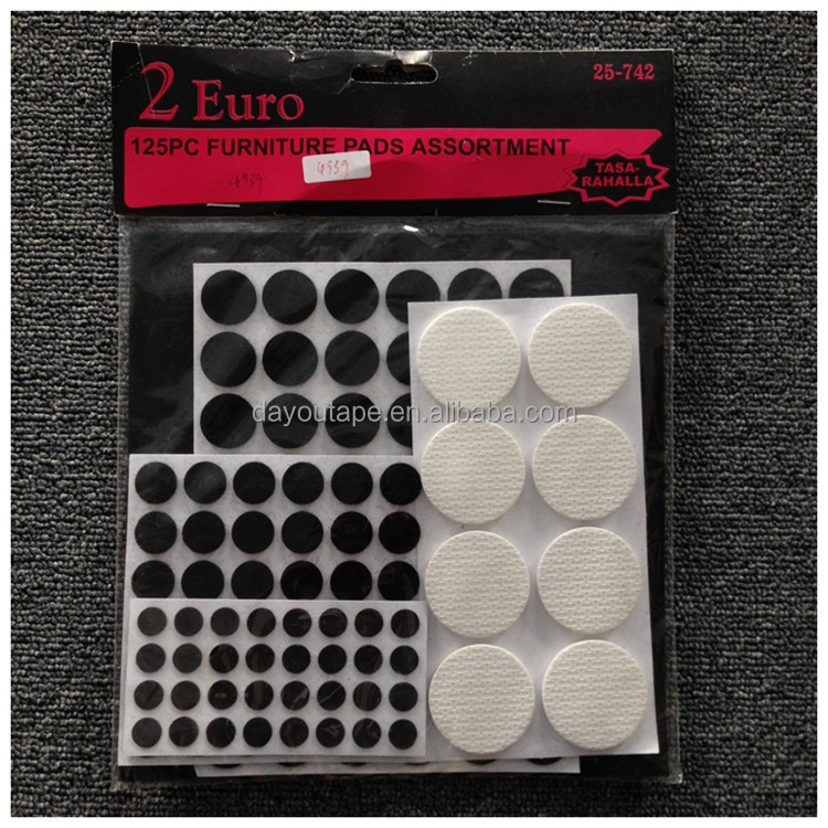 Hot 125-PC Furniture Pads Set Chair Leg floor Protector