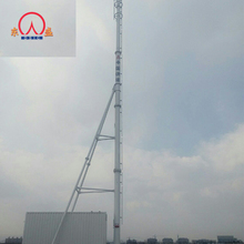 Quality primacy antenna tubular base station galvanized monopole steel tower