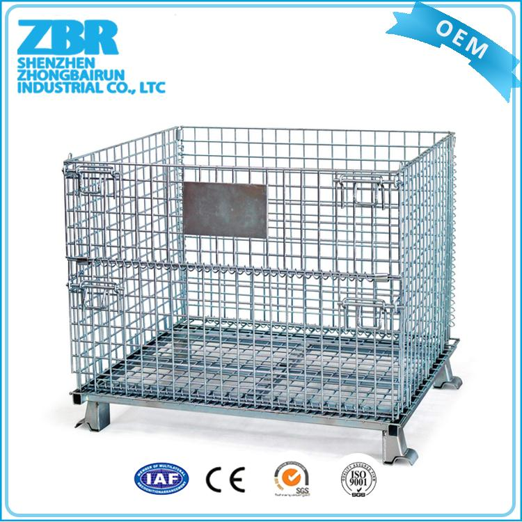 folding high quality metal cage for storage