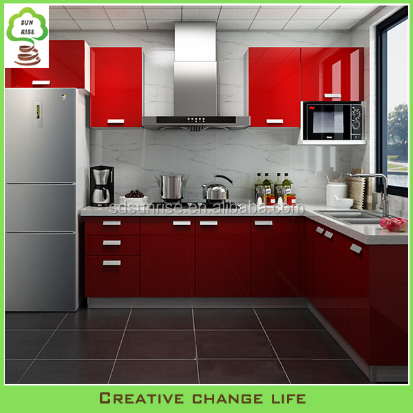 Vinyl Kitchen Cabinet Doors: High Gloss Vinyl Wrap Doors Design Kitchen Cabinet Design