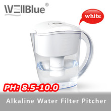 Wellblue Alkaline Water Jug With Negative Ion Ceramic Balls