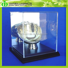 DDX-0049 ISO9001 Chinese Factory Produce SGS Test Wholesale Clear Acrylic Trophy Display Case