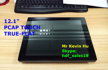 "wireless touch screen monitor, 12.1"" vga lcd monitor touchscreen for medical device"