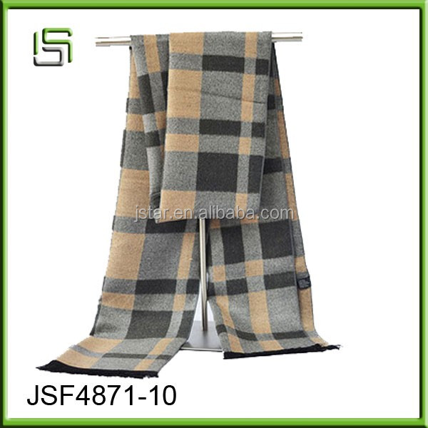 2017 new men's fashion scarves warm winter business gifts scarf