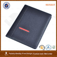 TYWEN - 0013 high quality leather notebook portfolios / cheap 2 pocket portfolios / customized presentation folders