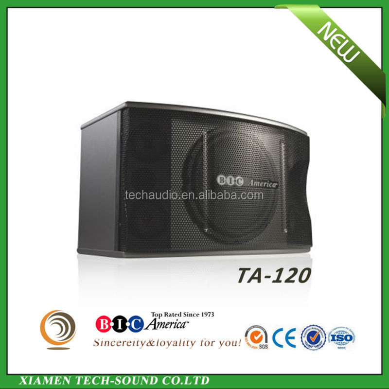 2015 hotsale high quality TA-120 12 inch passive three way max professional dj speaker system