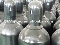 51 Supply 40L ISO9809 steel gas cylinders for industrial use