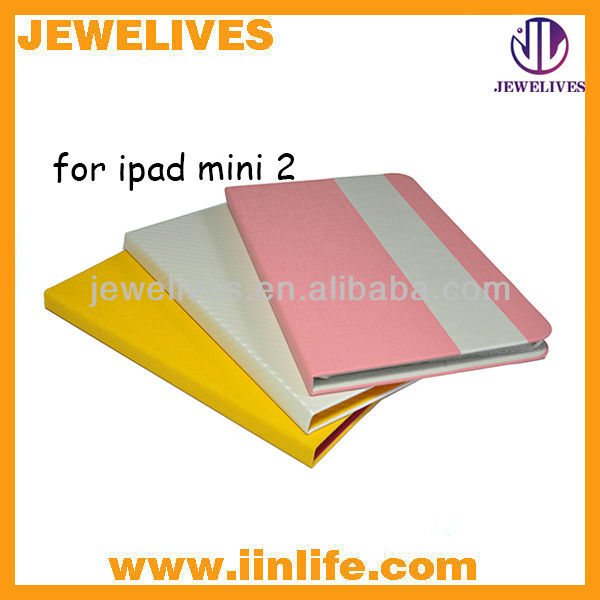 top quality leather case for ipad mini 2