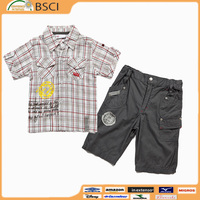 High quality children clothing set/children clothes/ child clothes from garment factory