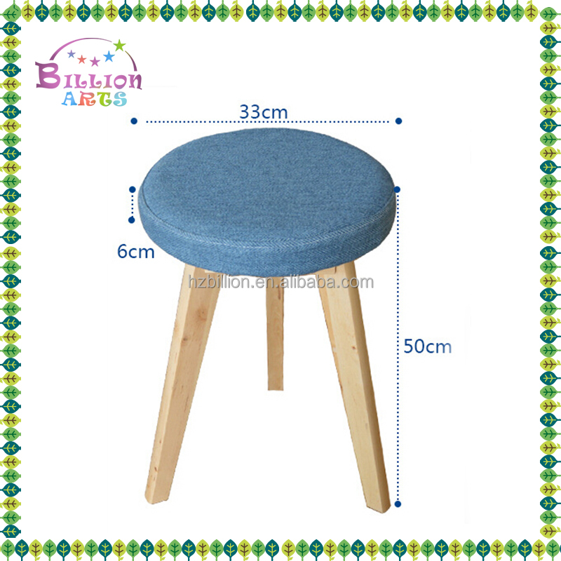 Houseware Kitchen Modern Children Wooden Stool Frames