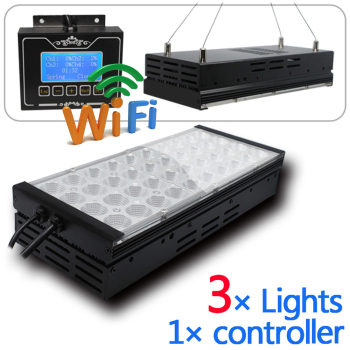48inch tank light IOS app will be ok soon now only android wifi light programmable 4 channels led aquarium light