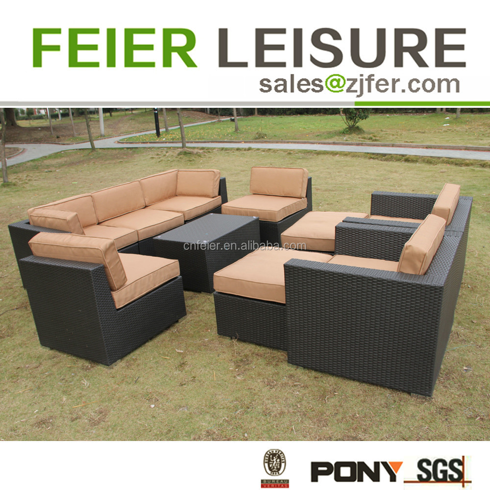 Luxury garden furniture patio factory direct wholesale