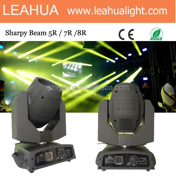 moving head 240w beam 8r sharpy beam moving head 16 Prisms