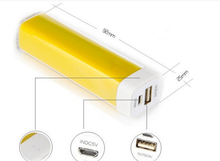 Universal Led Digital Display 2600mAh Fast Charging small size Power Bank, Portable Mini Mobile Power