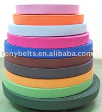 cotton polyester nylon webbing