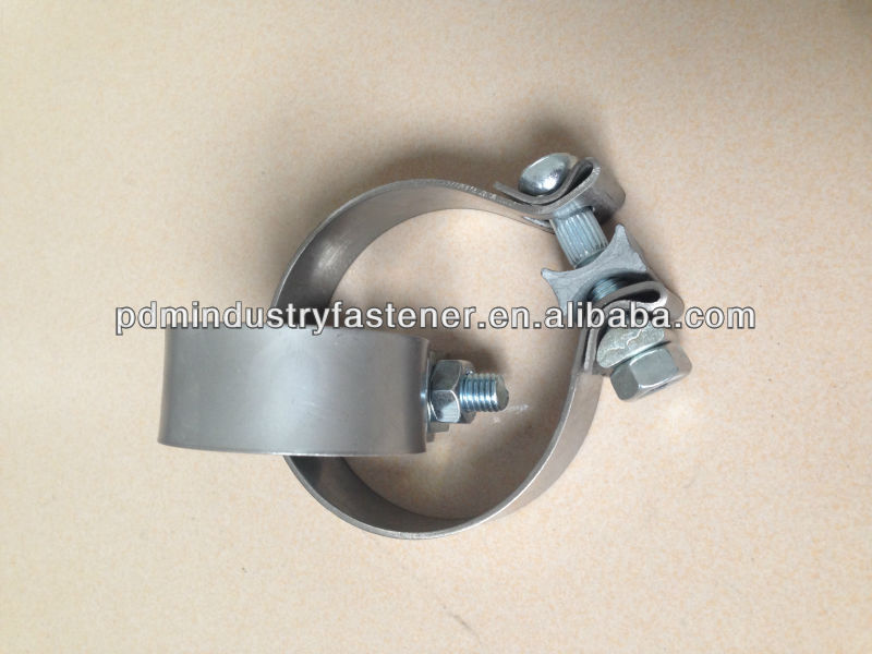 auto exhaust U bolt pipe clamp