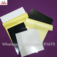 Wedding photo album inner pvc sheet and cover material adhesive pvc pages