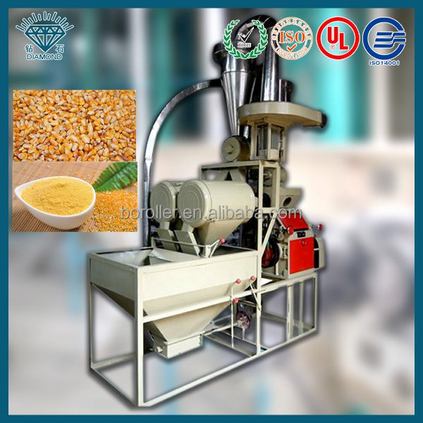 ebest selling maize mill plant in africa/small maize mill machine in africa