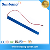 Super thin and slim 12volt lithium polymer battery 12v rechargeable battery powered led open signs for strip T8 LED Tube