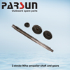 PARSUN 90hp 2-stroke outboard engine propeller shaft and gears