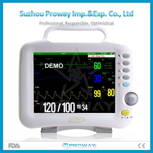 Smart Universal Best Price Patient Monitor For Hospital with ECG