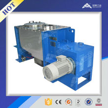 Animal feed industrial horizontal blade double helix mixer