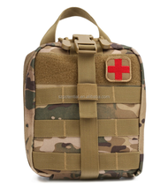 Stock Amazon hot sell Tactical Medical Pouch First Aid IFAK Utility Pouch Combat Medicine Kit Emergency Bag