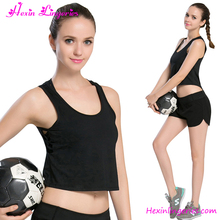New Design Shirt Summer Breathable Quick Drying Clothing Jogging Suit Girl SportsT-shirt Gym Tank Top