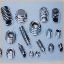 Factory specializing in the manufacture of hot stainless steel din916 Hexagon socket head screw socket screw with cup point