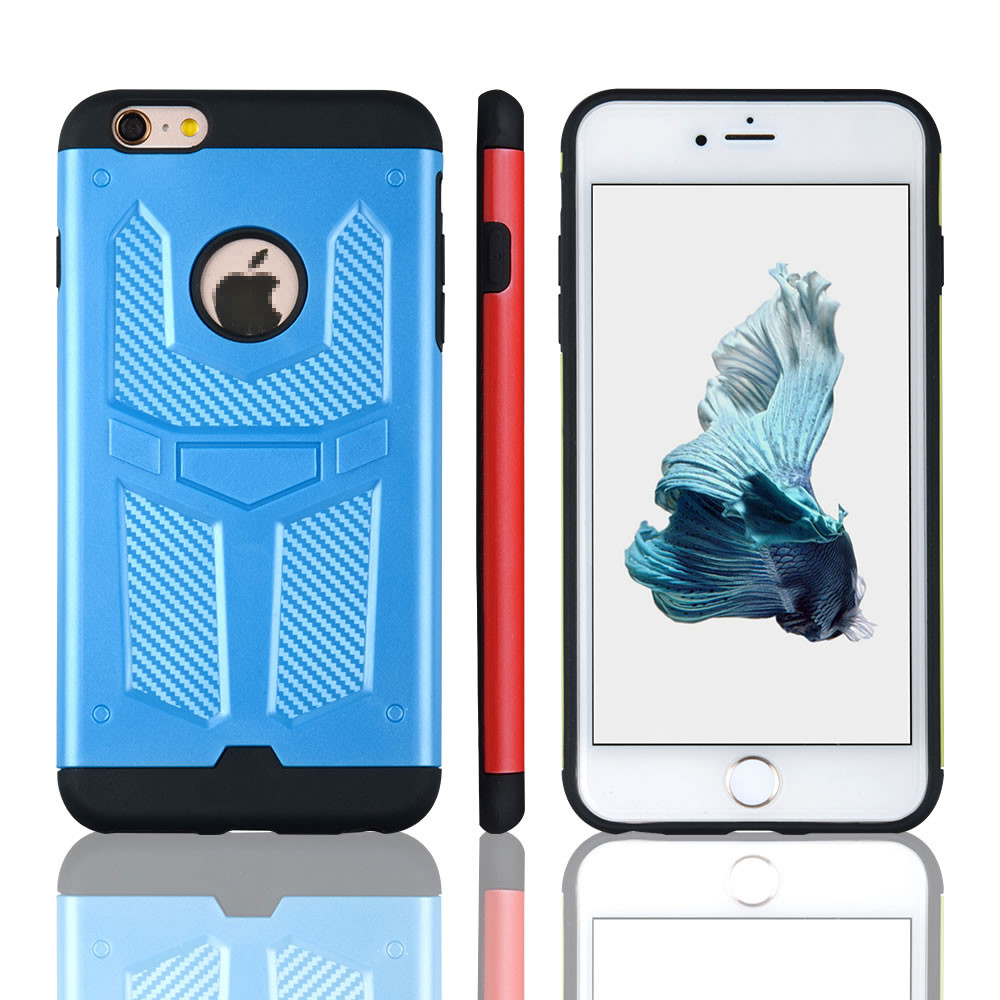 C&T Hybrid Dual Layer Combo Armor with Kickstand Case for iPhone 6S /6